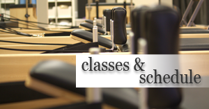 Pilates class schedule in San Marcos, Oceanside, Carlsbad and Vista